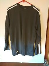 Athletic Works Men's long sleeve pullover shirt, Size M, Gray, # 995