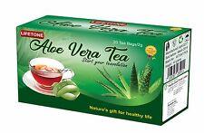 Aloe Vera Té, Infusión Orgánica, Sistema Inmune Booster, Cleanse Detox Té, 20 Bolsas