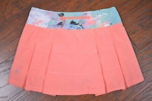 Lululemon Pace Rival Skirt II Plum Peach Blushed Illusion Multi Women's 4
