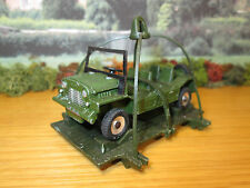 66FP DINKY TOYS MILITARY AUSTIN MINI MOKE WITH PAYLOAD ATTACHMENT