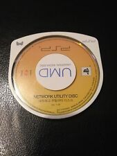 PSP Network Utility Disc (KR) (PlayStation Portable UMD) Extremely Rare!