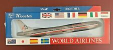 WOOSTER world Airlines series AMERICAN AIRLINES 777 aircraft plane No 563 model