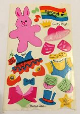 Vintage 1980's Sandylion Dance A Bunny Sticker