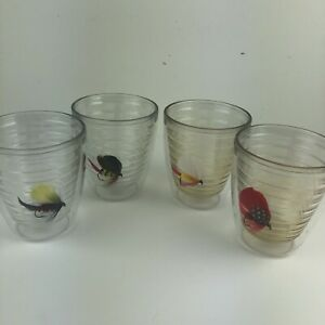 Tervis Tumblers Fly Fishing Lures Angler Plastic Cups Made in USA