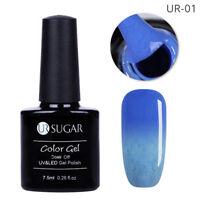 7.5ml Thermal Soak Off Fur UV Gel Nail Polish Color Changing Gel Varnish UR-01