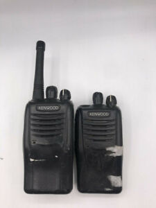 LOT OF 2 KENWOOD TK-3360 2-WAY  RADIOS