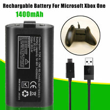 Rechargeable Battery Pack + 2M Lead Cable For XBOX ONE / S Controller GamePad