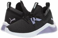 Women's Shoes PUMA EMERGENCE COSMIC Sneakers 192347-01 BLACK / SWEET LAVENDER