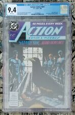 CGC 9.4 DC Comics ACTION COMICS Weekly #607 (1988) White Pages