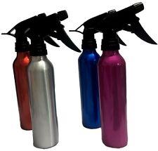 4x Metal Spray Bottle Salon Flowers Plant Water Sprayer Empty Bottles