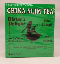 36 TEA BAGS CHINA SLIM TEA Dieter's Delight extra srength  Made in USA