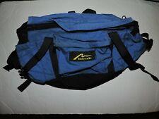 Rocky Packs Boulder Colorado Large Lumbar  Fanny Pack Waist Bag Blue