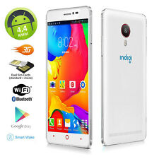 "5.5"" Dual Core Unlocked Android 4.4 Smartphones 3G DuoSIM WiFi Google Play Store"
