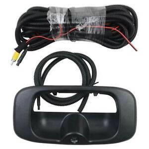 Rear Tailgate Handle Backup Camera For GMC Sierra Chevrolet Silverado 1999-2006