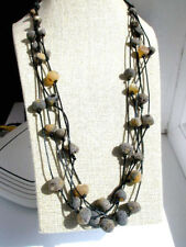 LOVELY LADIES NATURAL BALTIC AMBER NECKLACE 85 cm !!!