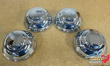 2006-2017 Chrysler 300 Dodge Charger Chrome Police Package Center Caps Mopar OEM