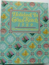HOLIDAYS IN CROSS STITCH 1989 HARDCOVER BOOK