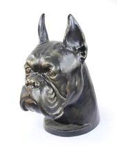 Boxer Pet Cremation Urn for Dog's ashes, Dog statue Unique Memoerial  Pet Urn