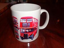 Norfolk China Ceramic Mug LONDON TRANSPORT BUS BUSES