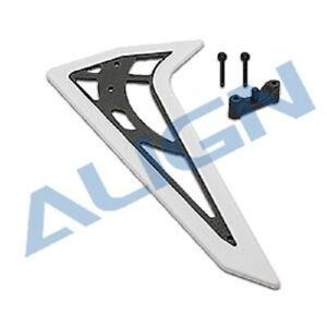 Align T-Rex 470L/ 450 - Carbon Fiber Vertical Stabilizer - H47T004XXT
