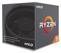 AMD Ryzen 5 2600X Gen2 6 Core 3.6 Ghz AM4 CPU/Processor with Wraith Spire Cooler