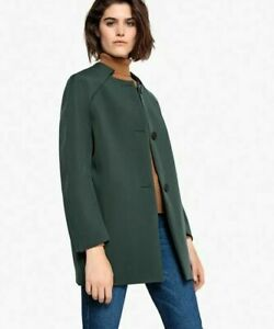 LA REDOUTE Ladies  Tailored Coat Green Size 14, May fit size 16 New without tag