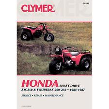 Repair Manual Honda ATC250ES/SX, TRX200/250 1984-1987