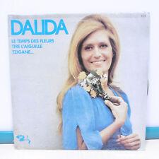 """33T DALIDA Vinyle LP 12"""" TEMPS FLEURS -TIRE L'AIGUILLE -TZIGANE -BARCLAY 95018"""