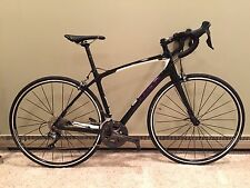 Trek Silque S6 52cm Carbon Road Bike black/purple Ultegra great for triathlon