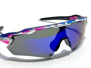NEW* Oakley RADAR EV PATH MEGURU Polarized Galaxy Blue lens Sunglass 9208-A3