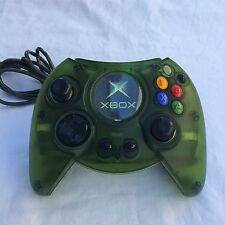 Original Xbox Translucent Green Duke Launch Controller
