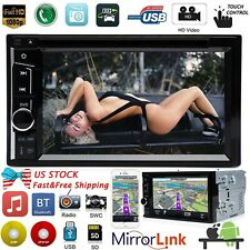For Toyota Tacoma Tundra RAV4 Sienna 4Runner 2Din Car Stereo DVD Player Radio