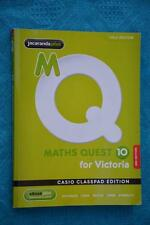 2012 Maths Quest 10. AS NEW Edition. For the AUSTRALIAN Curriculum