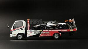 1/43 TINY Hino 300 HK World Champion Flatbed Tow Truck Diecast Model