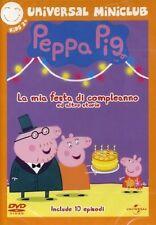 Dvd PEPPA PIG LA MIA FESTA DI COMPLEANNO E ALTRE STORIE   ......NUOVO