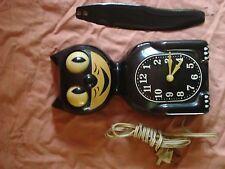 Kit Cat Clock, rare black antique