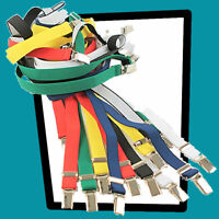 "RELCO Classic 1//2/"" Braces BNIB  Adjustable suspenders  Mod Ska Skin"