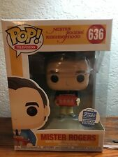 FUNKO POP MISTER ROGERS (BLUE SWEATER) #636 FUNKO SHOP EXCLUSIVE LE SOLD OUT