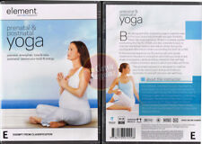 PRENATAL POSTNATAL YOGA Element pregnant relax NEW DVD (Region 4 Australia)