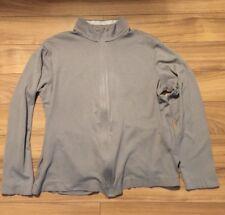 Hugo Boss Mens Grey Jumper Top Full Zipper M