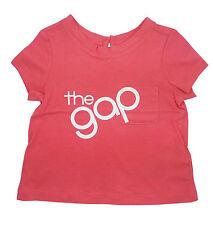 Gap Baby Girls T Shirt Top Summer Pink 3-6 Months