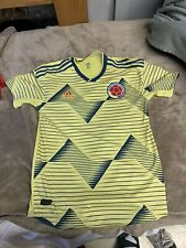 Adidas 2019 Colombia Home Authentic Soccer Jersey Climachill $130 Dn6620 Sizes