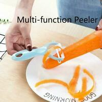 Ceramic Peeler Fruit Potato Slicer Kitchen Multifunction Peeler Thin D5U3