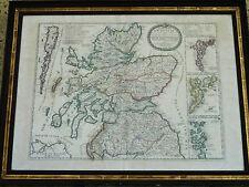 CORONELLI NOLIN 1689 SCHEDA REGNO SCOZIA SCOZIA MAPPA ATLANTE ISLAND GEOGRAFIA