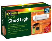 Solar Powered Shed Light Garden Room Garage Stable Lighting