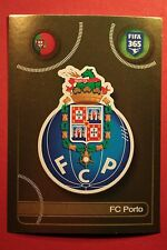 PANINI FIFA 365 - 2017 N. 23 BADGE FC PORTO TOP MINT !