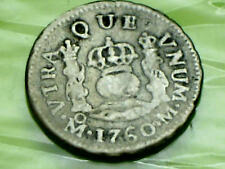 SPAIN SPANISH COIN 1760 1 ONE REALE SILVER ¥¥€£