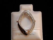Designer Anhänger - besetzt mit 4 Diamanten - in Sterling Silber - 925 - EDEL !