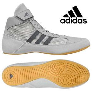 Ringerschuhe Adidas Havoc Grau Grey Wrestling Shoes Ringen