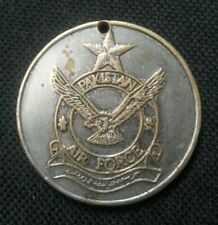 PAKISTAN AIR FORCE MEDAL WITH FLYING EAGLE & FIGHTER PLANE